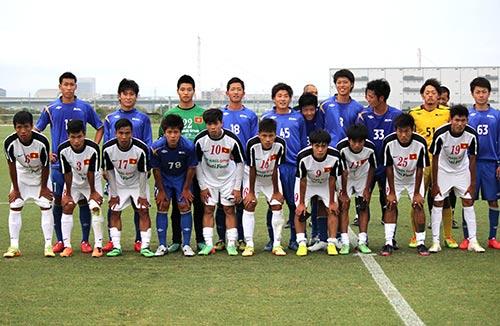 U19 Việt Nam lại thua tan nát ở Nhật Bản - 2