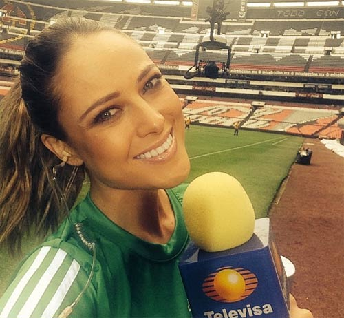 Nữ phóng viên Mexico xinh đẹp làm người hâm mộ phát sốt - 4