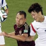 Bóng đá - Nga – Hàn Quốc: Niềm vui ngắn ngủi