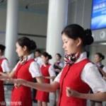 Tin tức trong ngày - TQ: Nữ tiếp viên hàng không học võ chống khách quậy