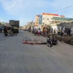 Tin tức trong ngày - Ngã xuống đường, hai vợ chồng bị container cán chết