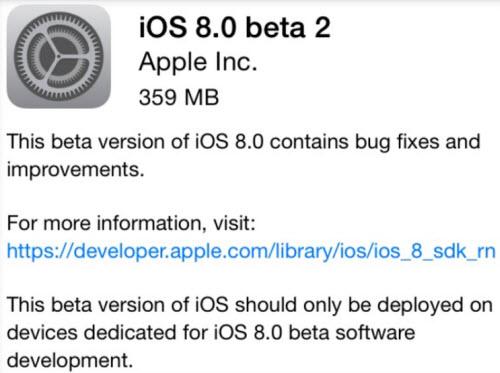 iOS 8 Beta 2 trình làng - 1