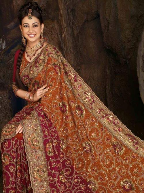 Trang phục cưới độc đáo của cô dâu Ấn Độ - 1