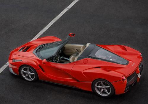 """Hàng """"khủng"""" LaFerrari Spider giá cao hơn Bugatti Veyron - 1"""