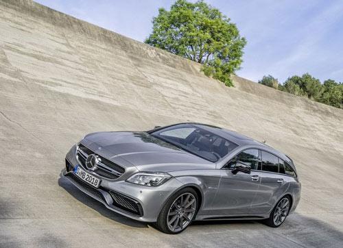Mercedes-Benz CLS 2015 trình làng với đèn pha LED đa tia - 3