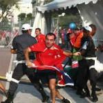 Hàng trăm fan Chile gây bạo loạn trước trận đấu