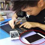 """Thời trang Hi-tech - Lâm Chí Dĩnh """"mổ"""" iPhone 5S, khoe iPhone 6"""