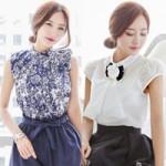 Thời trang - Giải nhiệt mùa hè với sơ mi tay hến xinh xắn