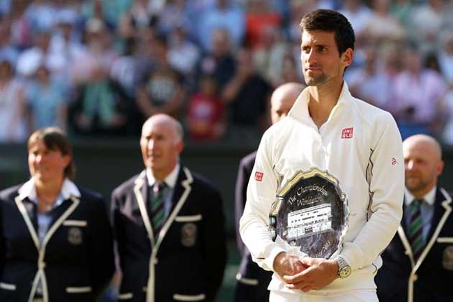 Novak Djokovic, hạt giống số 1 tại Wimbledon năm nay, đã thất bại trong trận chung kết năm ngoái trước Andy Murray.