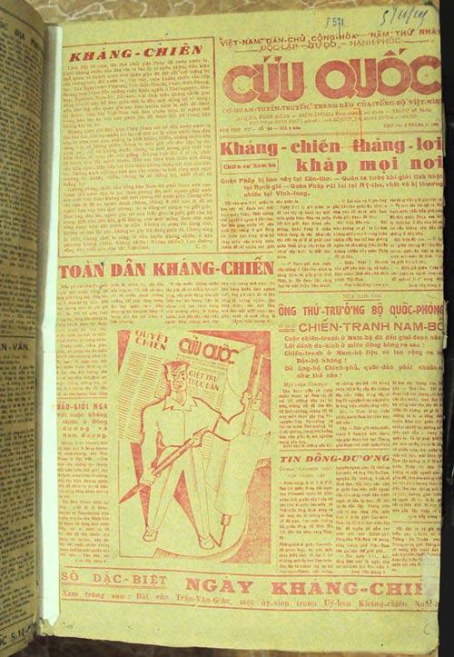 Báo chí  cách mạng Việt Nam sau tháng Tám năm 1945 - 1
