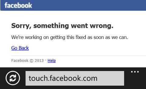 """Facebook """"sập"""" 30 phút: Thiệt hại hàng trăm ngàn USD - 2"""