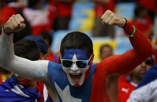 Fan bóng đá khoe độ cuồng ở World Cup 2014 - 10