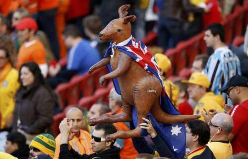 Fan bóng đá khoe độ cuồng ở World Cup 2014 - 14