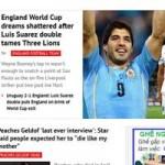 Bóng đá - Báo Anh chua xót trước ác mộng, ngả mũ trước Suarez