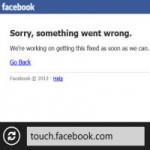 """Thời trang Hi-tech - Facebook """"sập"""" 30 phút: Thiệt hại hàng trăm ngàn USD"""