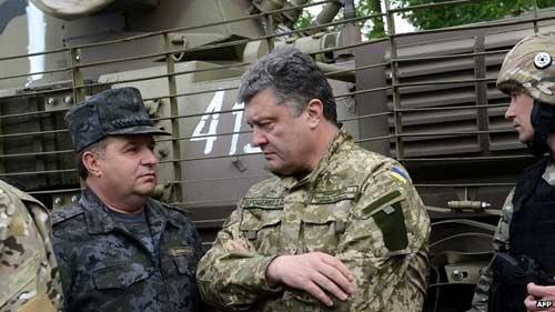 Putin ủng hộ kế hoạch hòa bình của Ukraine - 1