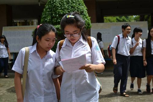 Tuyển sinh lớp 10 TP.HCM: Thí sinh thở phào sau môn thi Toán - 1