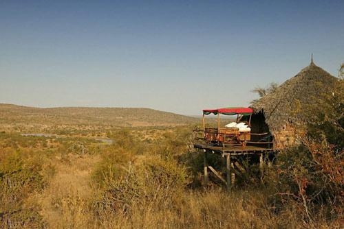 Ngủ dưới trời sao ở Kenya - 10