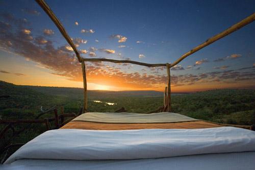 Ngủ dưới trời sao ở Kenya - 1