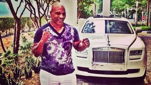 "Mike Tyson phải thuê Rolls-Royce để ""khoe"" - 1"