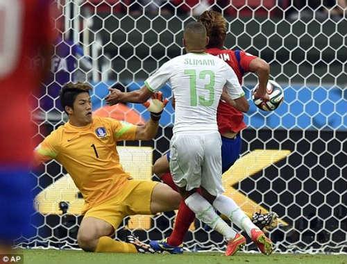 Hàn Quốc - Algeria: Trận cầu 6 bàn thắng - 1