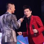Ngôi sao điện ảnh - Nathan Lee gặp sự cố trên sân khấu