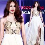 Thời trang - Thanh Hằng khoe chân dài với váy xẻ cao