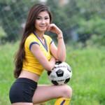 Bạn trẻ - Cuộc sống - Thạc sĩ xinh như mộng đoán Brazil vô địch