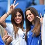 Bóng đá - Dàn WAG kiêu sa của Ý ''tỏa sáng'' trên khán đài