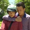 Cảnh ôm khó hiểu của Lương Mạnh Hải và Minh Hằng