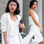 Thời trang - Phái đẹp thế giới vẫn đắm say gam màu trắng
