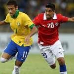 Bóng đá - Brazil gặp vấn đề tâm lý, Chile lo ngại trọng tài