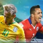Bóng đá - Brazil - Chile: Nóng bỏng cuộc chiến derby Nam Mỹ