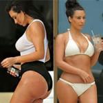 Làm đẹp - Choáng váng trước số đo dị thường của Kim Kardashian