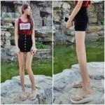 Phi thường - kỳ quặc - Tò mò với cô gái sở hữu đôi chân dài kinh ngạc
