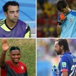 Pirlo, Xavi và những ngọn nến World Cup  đã tắt