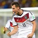 Bóng đá - Đức - Algeria: Chờ Klose đi vào lịch sử