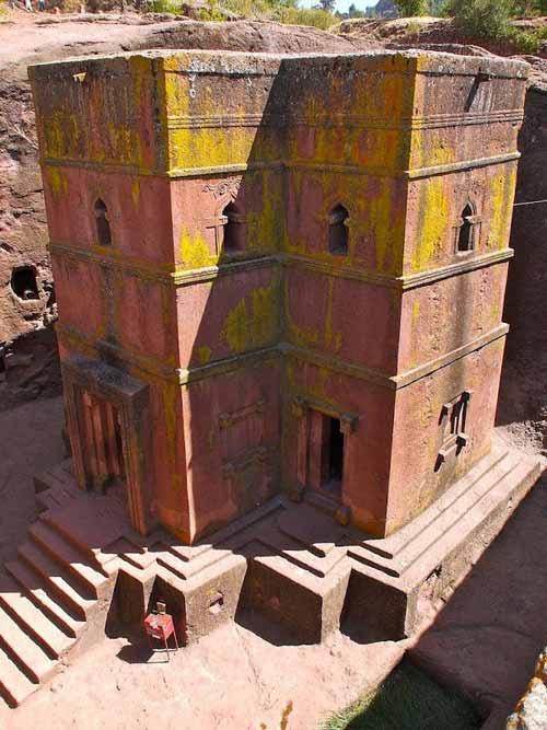 Nhà thờ khắc từ đá độc đáo ở Ethiopia - 2