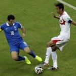 """Bóng đá - Costa Rica - Hy Lạp: """"Nghẹt thở"""" ở sân Pernambuco"""