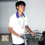 """Bóng đá - Cầu thủ U19 VN """"gầy nhom"""" sau chuyến tập huấn ở Nhật"""