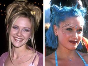 Cười ngất với thời trang tóc những năm 90 của mỹ nhân