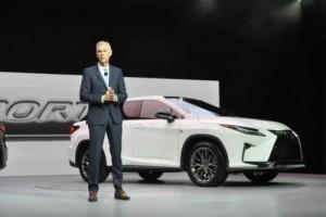 Lexus RX 2016 đẹp như mơ tại New York Auto Show