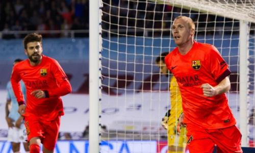 """Barca thắng nhọc: Đôi khi chỉ cần """"xấu xí"""" - 1"""