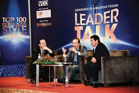 Chủ tịch FPT Trương Gia Bình – Diễn giả đặc biệt trong Leader Talk 2015 - 4