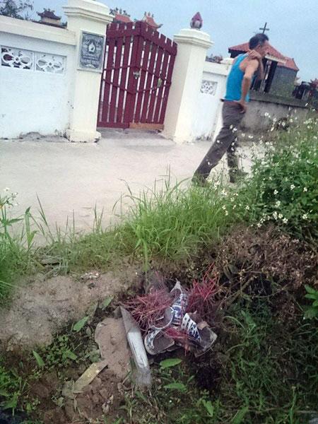 Hải Phòng: Hàng trăm ngôi mộ bị phá trong đêm - 3