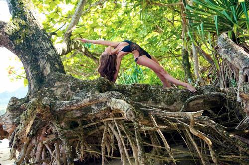 Thân hình sexy tuyệt đỉnh của mỹ nhân yoga gốc Á - 10