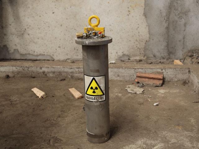 Nguồn phóng xạ Co-60 đã bị đục để lấy chì? - 1