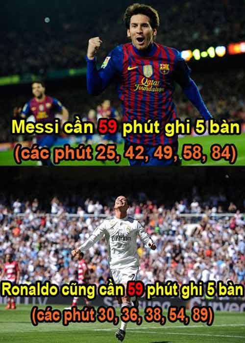 Ảnh chế tuần 30/3-7/4: Messi chạy trốn khỏi Ronaldo - 9