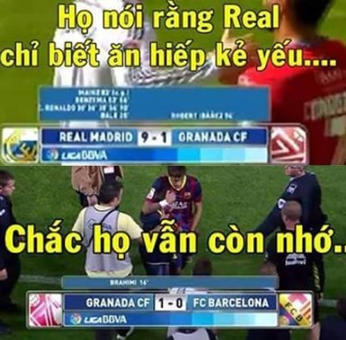 Ảnh chế tuần 30/3-7/4: Messi chạy trốn khỏi Ronaldo - 6