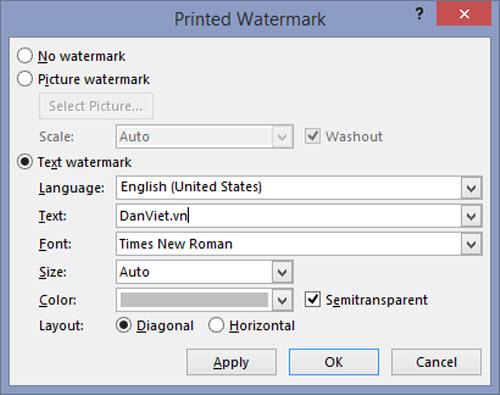 Cách đóng dấu bản quyền cho văn bản Word 2007/2010/2013 - 4